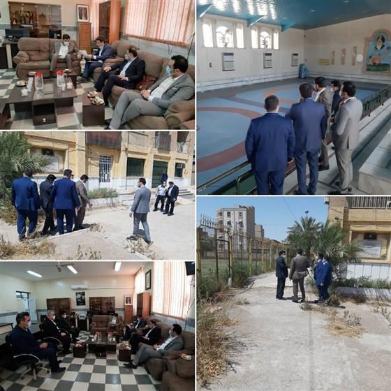 ساعتی پیش و در محل هیأت کشتی خوزستان :