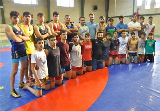 مرحله سوم اردوی تیم ملی کشتی فرنگی نوجوانان / کیاشهر :