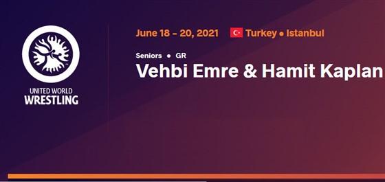رقابت های کشتی فرنگی بین المللی جام وهبی امره ترکیه / استانبول :