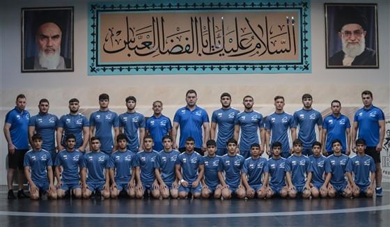 ششمین مرحله اردوی تیم ملی کشتی فرنگی نوجوانان / تهران :