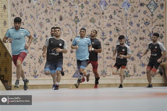 مرحله دوم اردوی تیم ملی کشتی فرنگی بزرگسالان / تهران :